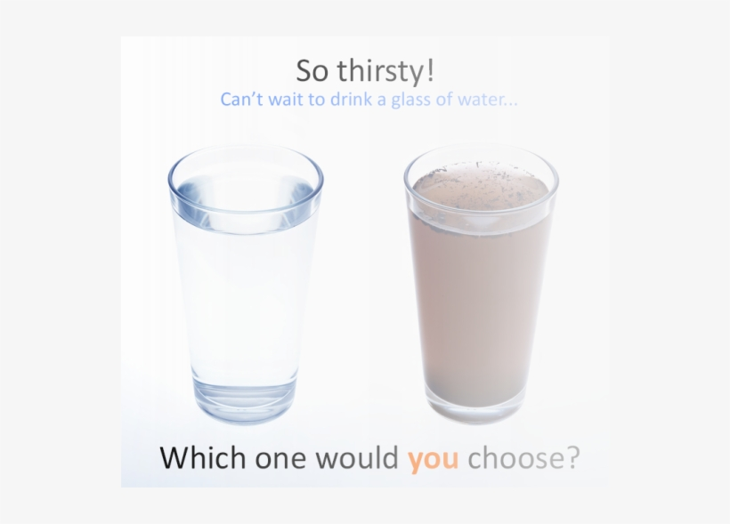 Clean Water Is More Healthy Than Dirty Water Because.