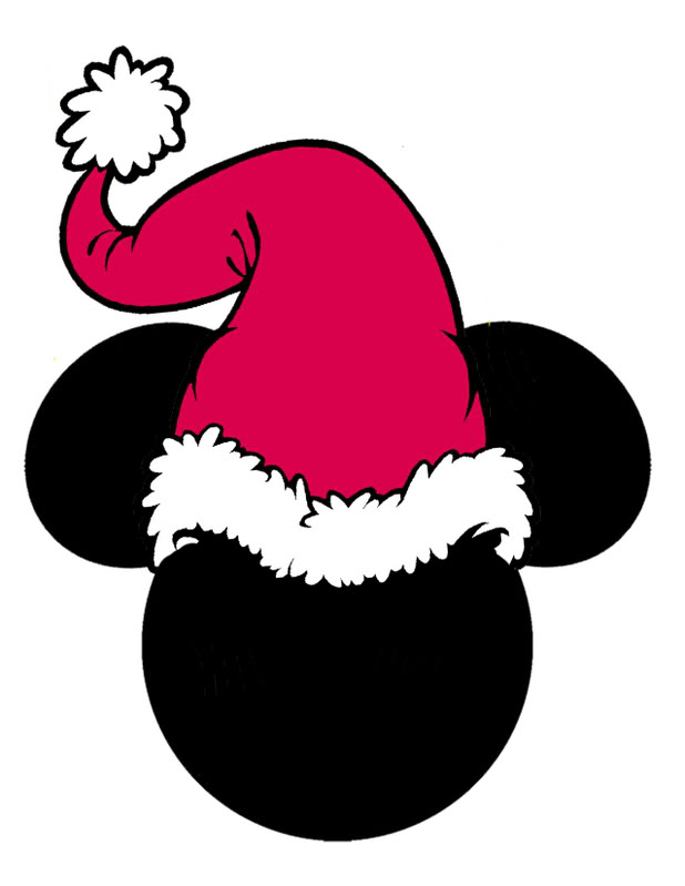 Mickey Ears Clipart.