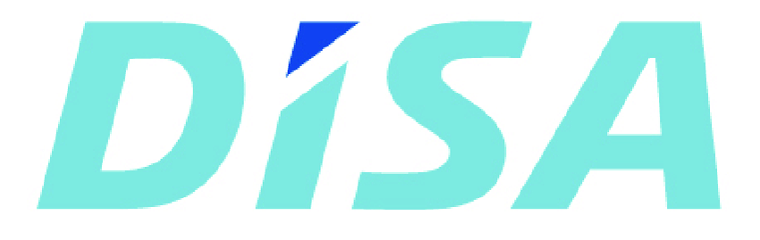 3: The DISA Industries A/S logo..
