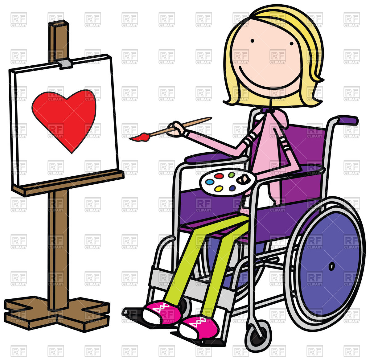 Disabilities clipart.