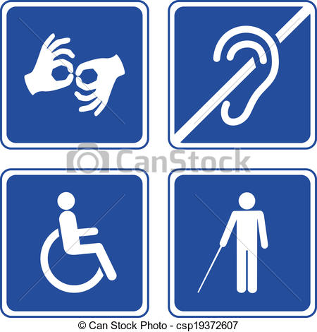 Disability Clipart.