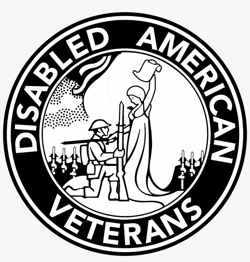 Disabled American Veterans Dav Logo Transparent Vector.