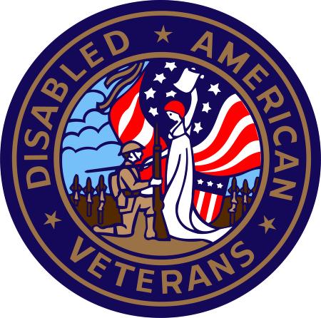 Disabled American Veterans vector logo.