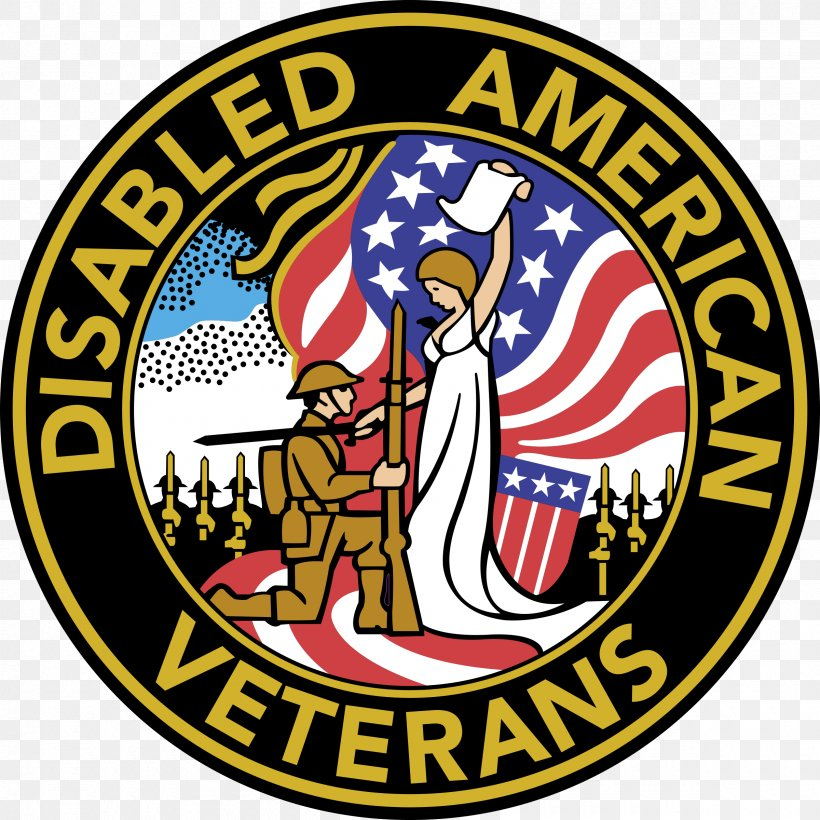 Logo Disabled American Veterans United States Of America.