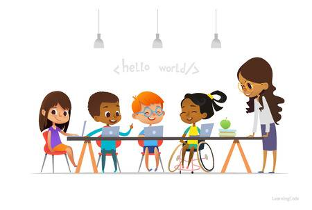 2,103 Disabled Children Cliparts, Stock Vector And Royalty Free.