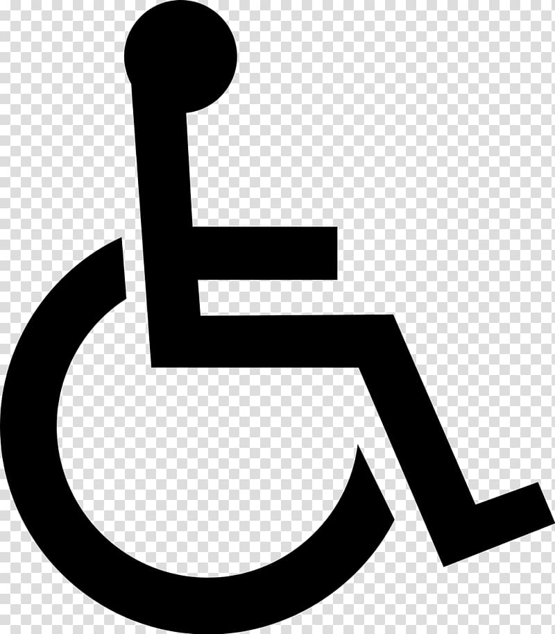 Wheelchair Disability Symbol Disabled parking permit.