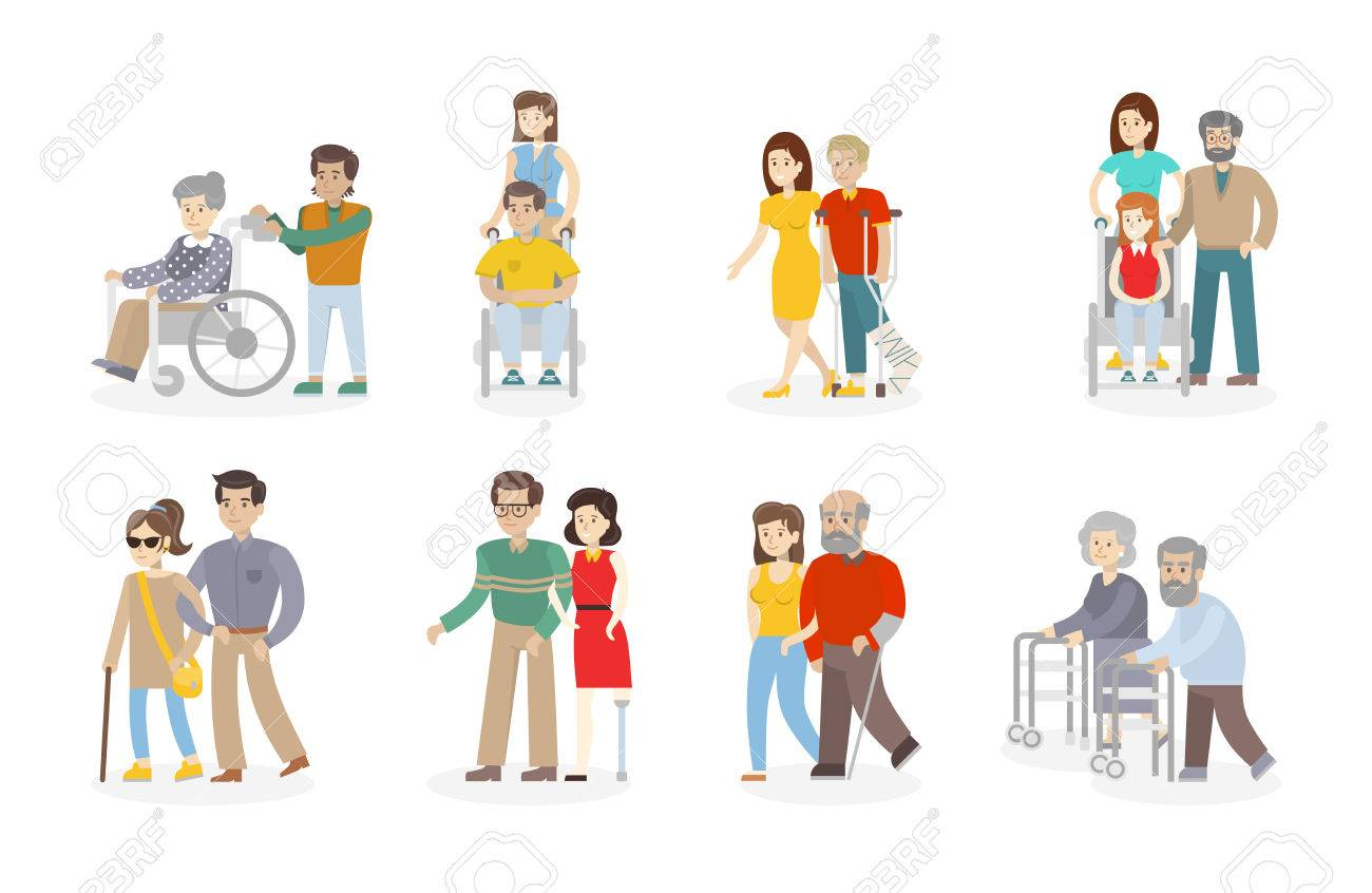 Collection of free Handicapped clipart disabled person.