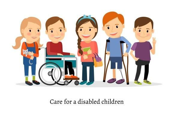 Disabled or handicapped children by ssstocker on.