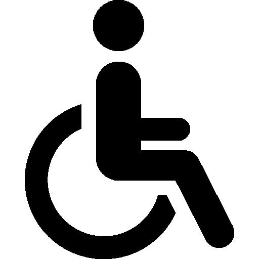 Disabled Symbol PNG Image.