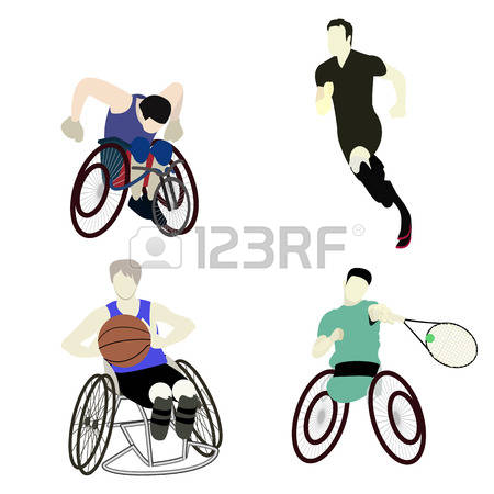 812 Disabled Sports Stock Vector Illustration And Royalty Free.