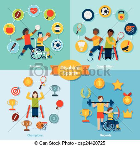 Disabled sport Vector Clipart EPS Images. 465 Disabled sport clip.