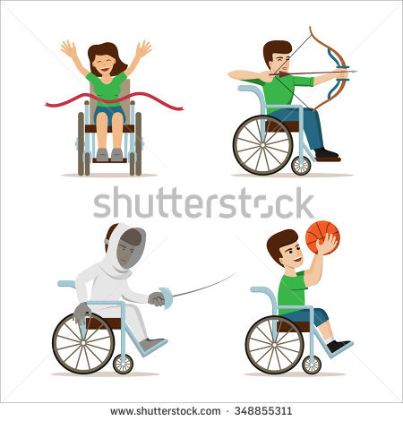 Paralympic Stock Images, Royalty.