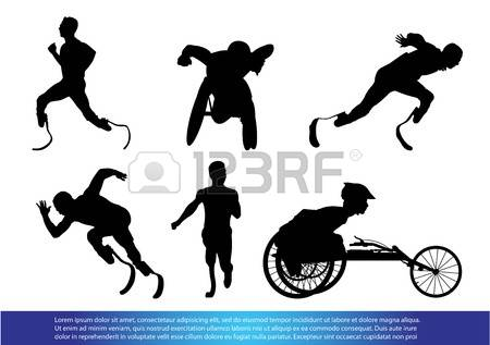 Girl In Wheelchair Sports Clipart.