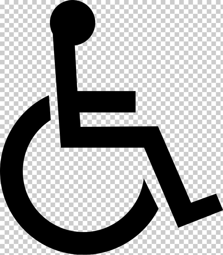 Wheelchair Disability Disabled parking permit Symbol.