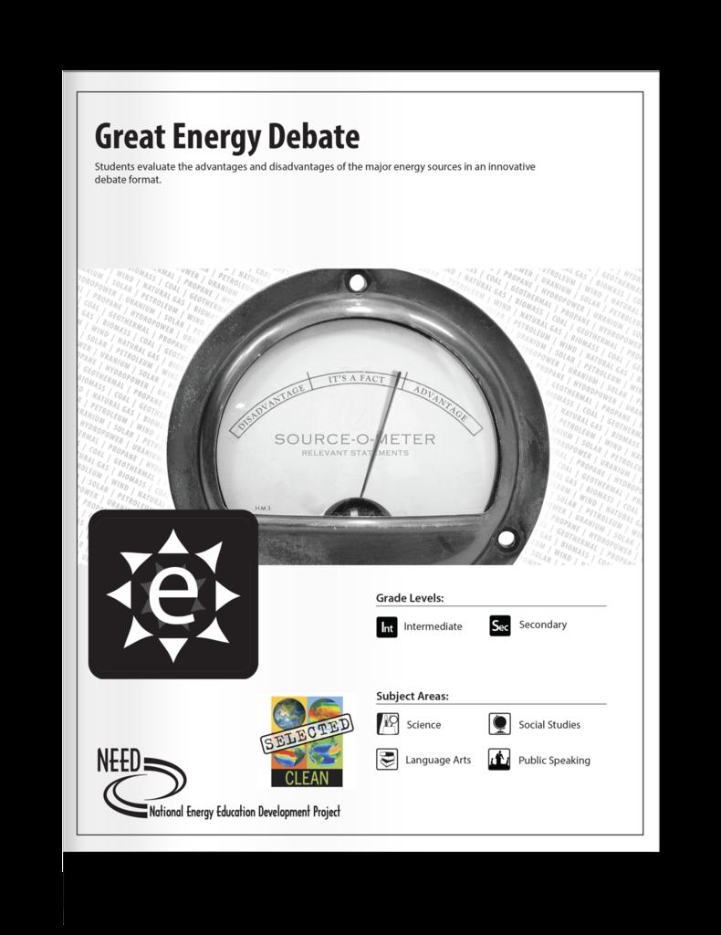 Great Energy Debate (Free PDF Download).