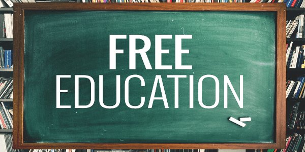 Pros and cons of free education.