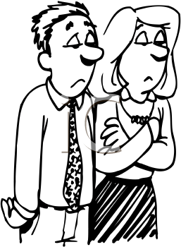 Showing post & media for Disappointment clip art cartoon.