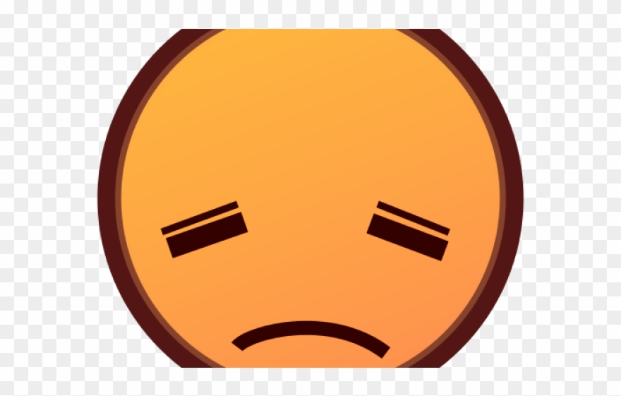 Emoji Face Clipart Disappointment.