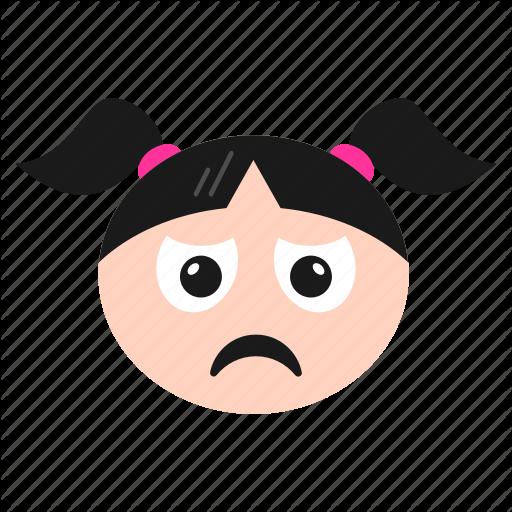 'Girl Face Emoji' by Flatart.