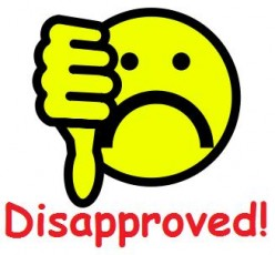 Disapproval 20clipart.