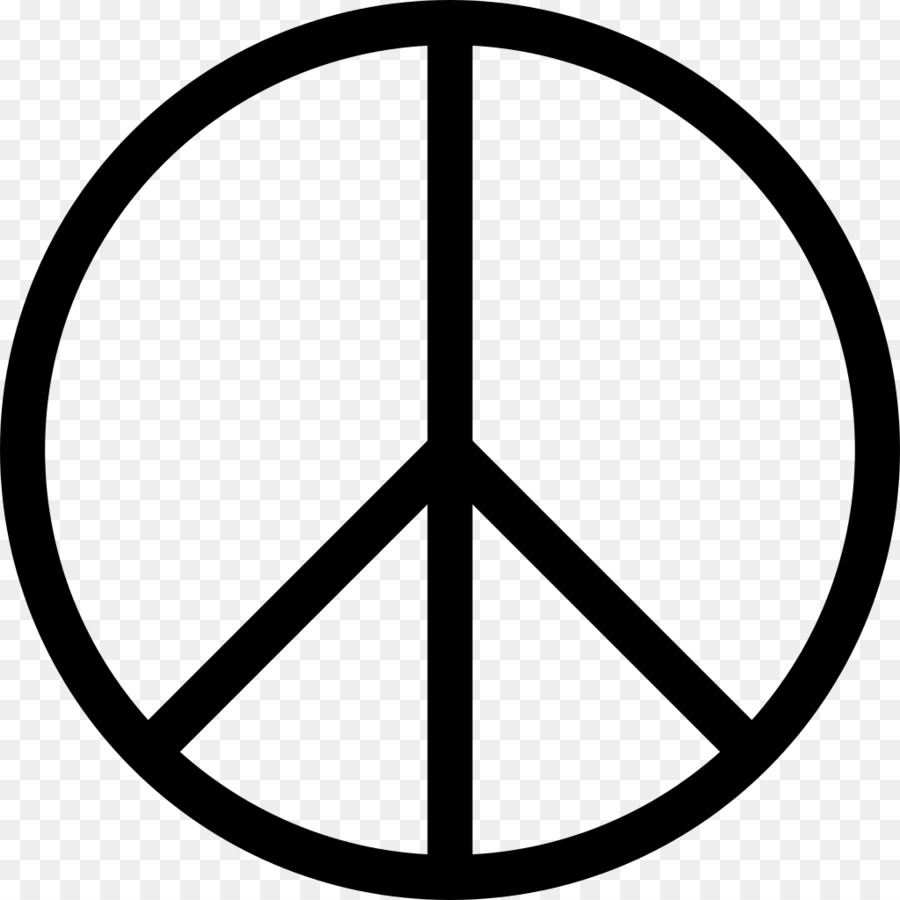 Peace symbols Campaign for Nuclear Disarmament Clip art.
