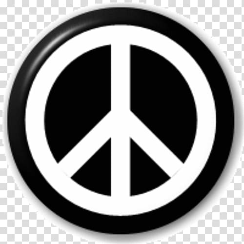Campaign for Nuclear Disarmament Peace symbols Pin Badges.