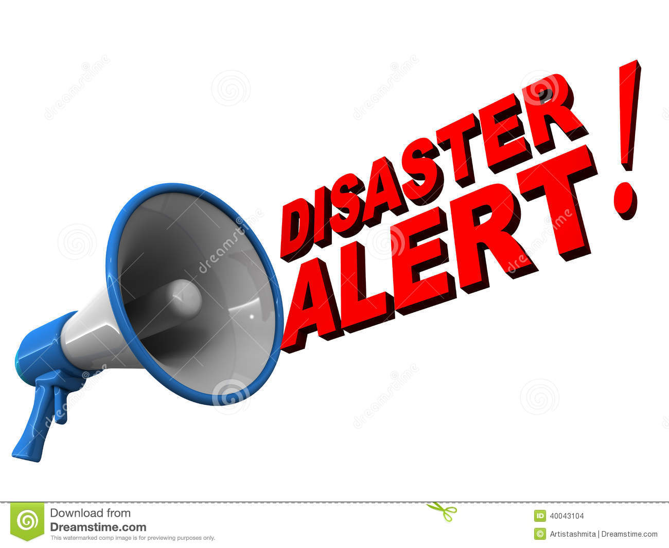 Disaster management clipart.