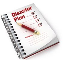 Disaster Plan Clip Art.