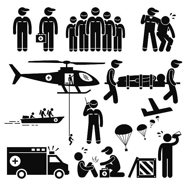 Best Disaster Relief Illustrations, Royalty.