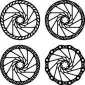 Disc Brake Clip Art.