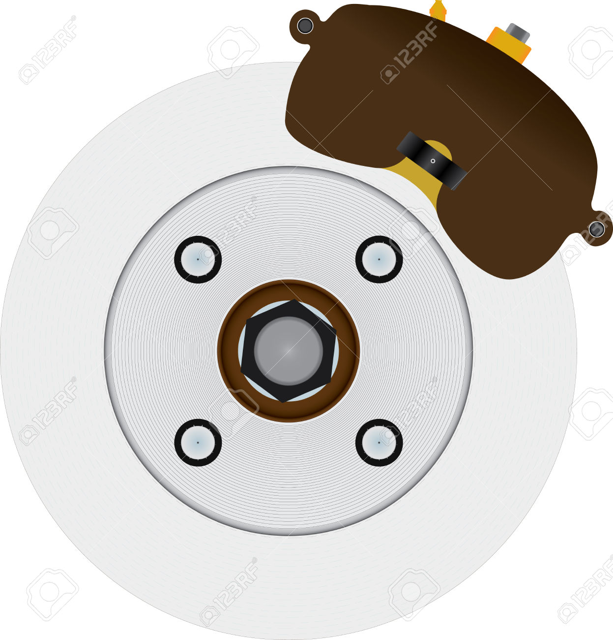 61 Disc Brake Rotors Stock Vector Illustration And Royalty Free.
