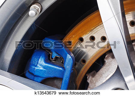 Stock Photograph of Disc Brakes k13543679.