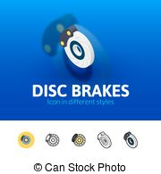 Disc brakes Stock Illustration Images. 516 Disc brakes.