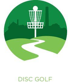 17 Best Frisbee golf logo images.