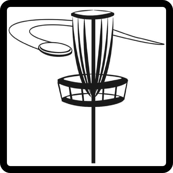 Disc Golf Clipart.