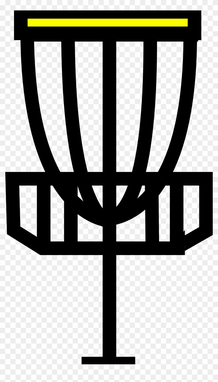 This Free Icons Png Design Of Disc Golf Goal, Transparent Png.