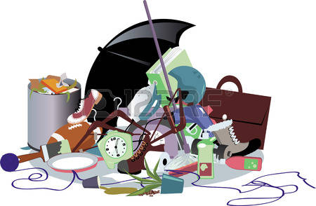Pile of rubbish clipart.