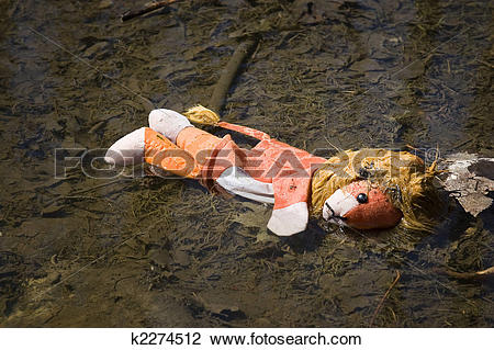 Stock Photo of discarded toy k2274512.