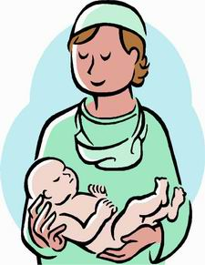 Hospital nursery clipart.