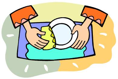 Washing dishes clipart 7 » Clipart Station.