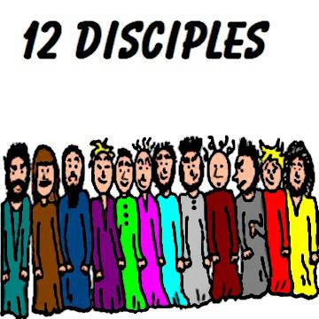 Twelve apostles clipart #9