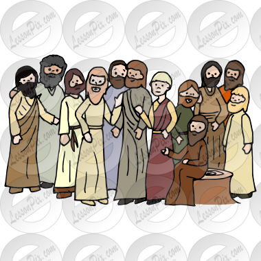 Disciples Picture for Classroom / Therapy Use.