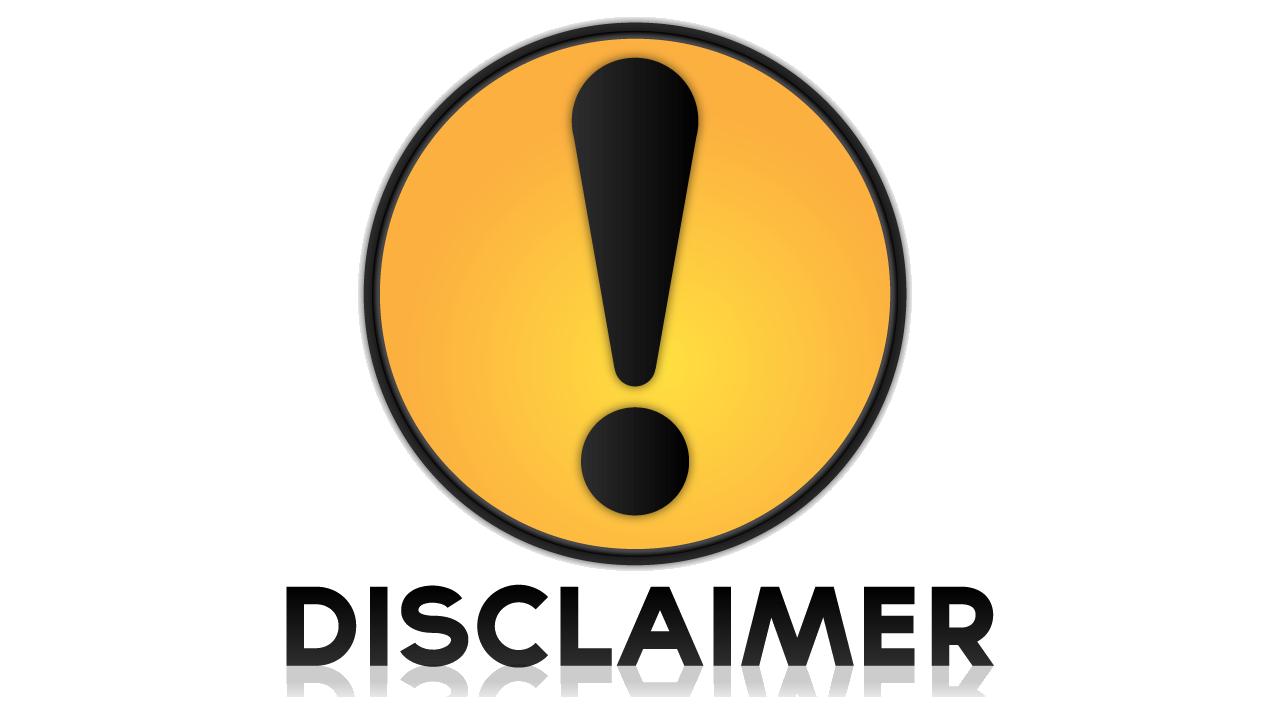 Download Disclaimer Symbol Transparent.