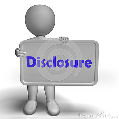 Disclosure Clipart.