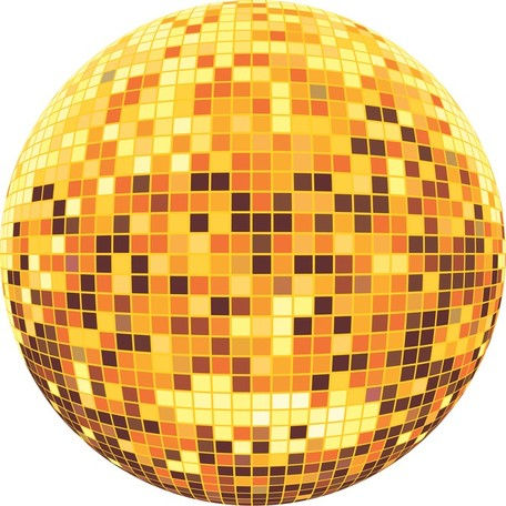 Disco Ball Clip Art, Vector Disco Ball.