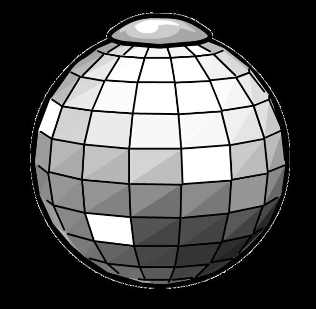 Disco Ball Vector.