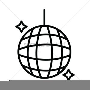 Free Disco Ball Clipart.
