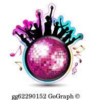 Disco Ball Clip Art.