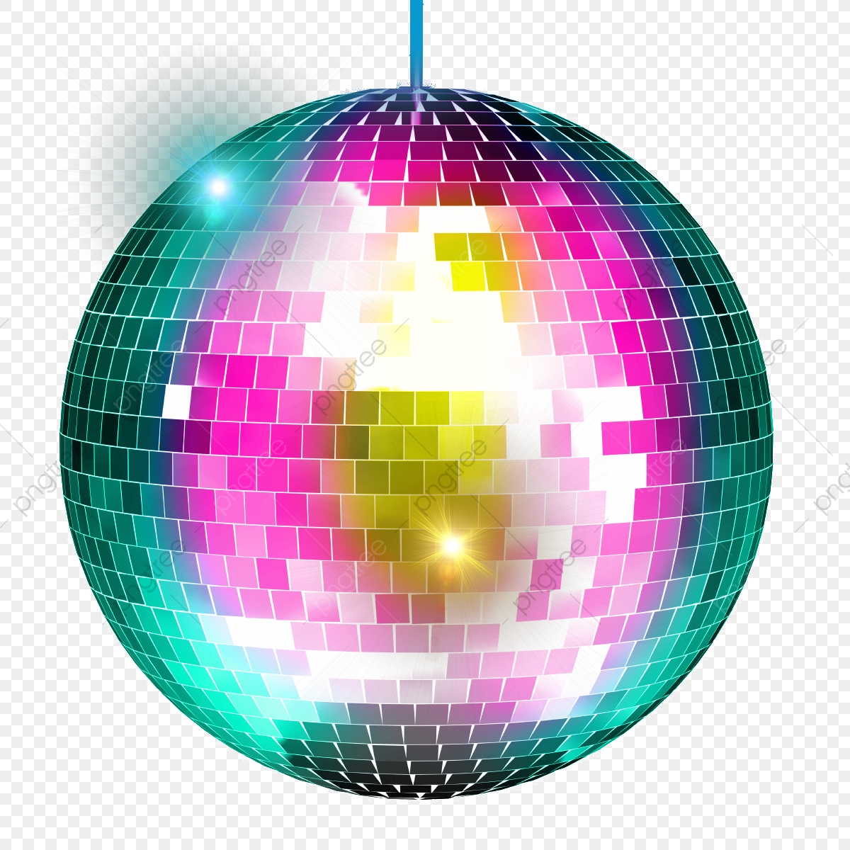 Disco Ball, Disco, Ball PNG Transparent Clipart Image and PSD File.