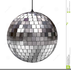 Animated Disco Ball Clipart.